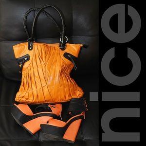NICE ORANGE BAG